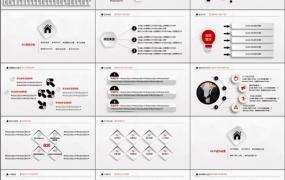 创业投资,企业推广宣传,公司介绍,项目合作PPT模板