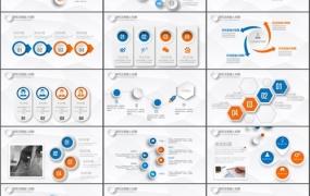 项目策划书PPT模板