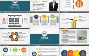 创业/商业项目计划书PPT模板