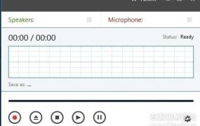 网络语音通话录制软件:Talkin v1.2英文绿色便携版